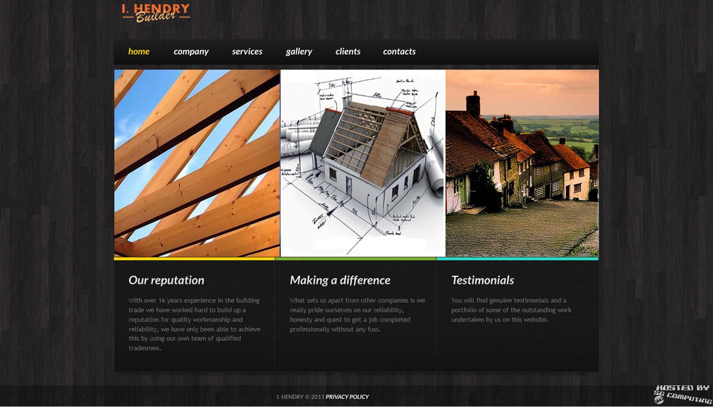 Ian Hendry Builder