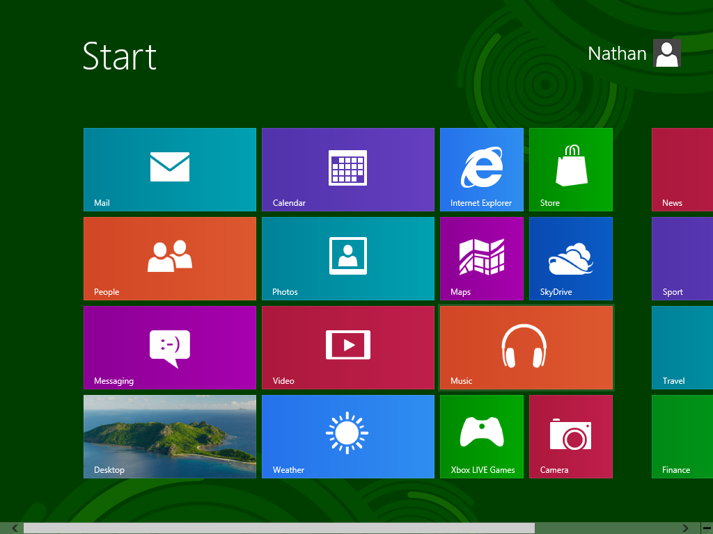 how to change start menu on windows 8